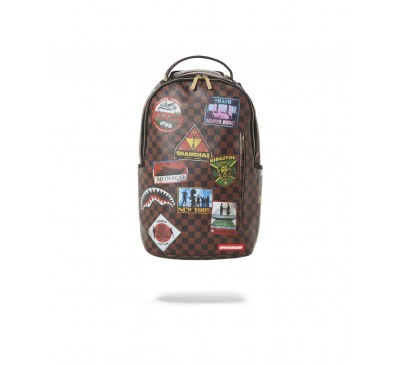 INTL TRAVEL PATCH DLXSVF BACKPACK