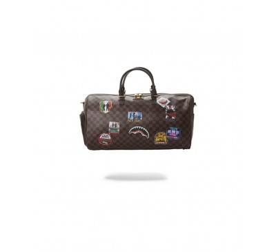 INTL TRAVEL PATCH EMPEROR DUFFLE