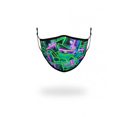 NEON MONEY FACE COVERING