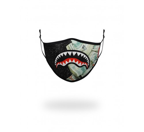 PARTY SHARK FACE COVERING