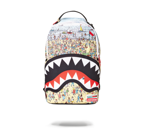 WALDO SHARK BACK PACK